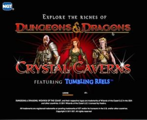 Dungeons and Dragons slot screenshot image