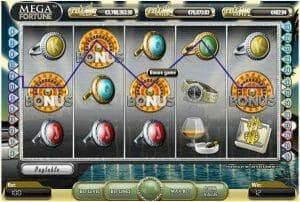 Screenshot image of Mega Fortune slot progressive Jackpot game