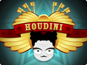 Logo image of Houdini slot