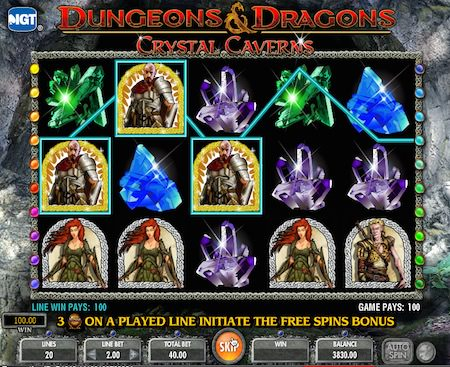 Screenshot image of Play Dungeons & Dragons slots online free