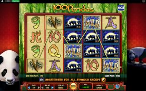 100 Pandas slot screenshot image