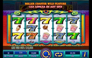 Screenshot image of Cash Coaster slot