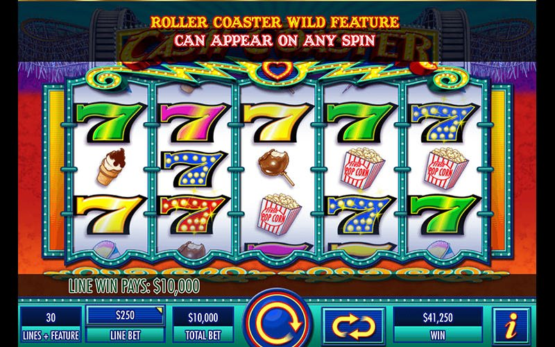 Screenshot image of Cash Coaster slot
