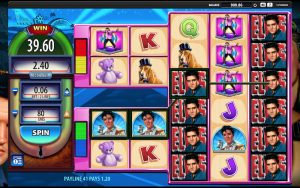 Screenshot of Elvis The King slot