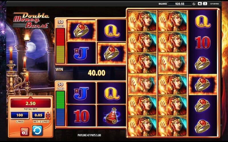 Screenshot of Fire Queen slot