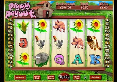 Screenshot of Piggy Payout