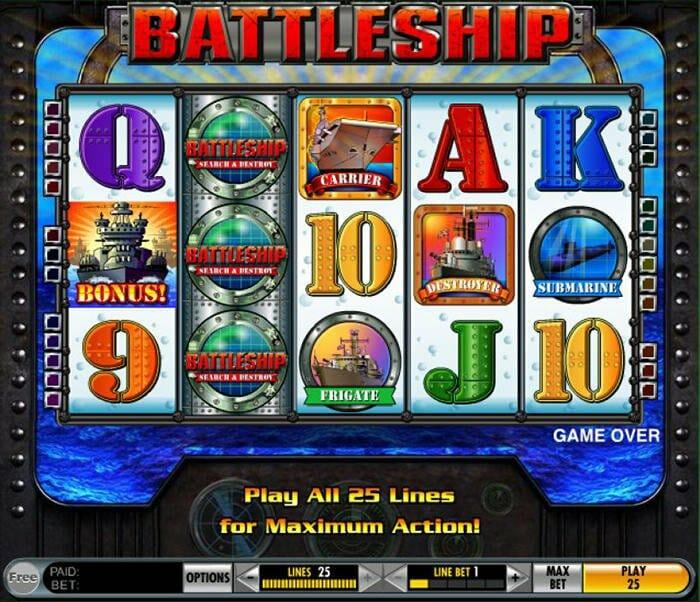 battleship slot game