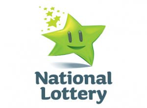 Image of the National Lottery logo for the How to play Irish lottery guide