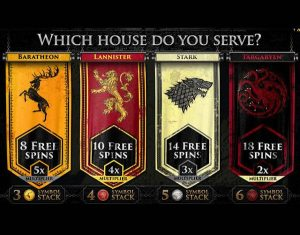 Screenshot image of game thrones slots free spins