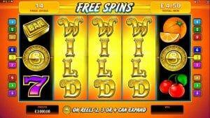 Screenshot image of sun tide slot free spins