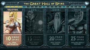 Screenshot image of thunderstruck 2 slots free spins