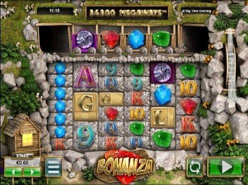 Screenshot of Bonanza Slot