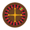 Online casino games icon graphic