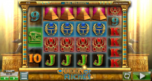 Screenshot image of the Queen of Riches slot game