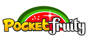 Pocket Fruity Casino logo image transparent