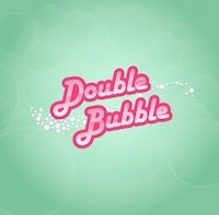 Logo image of the Double Bubble slots game from Gamesys