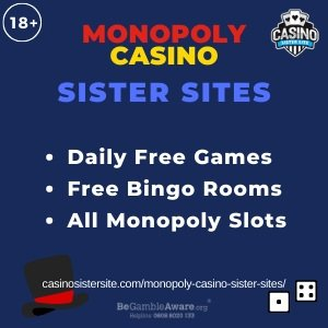 Monopoly Casino Sister Sites banner