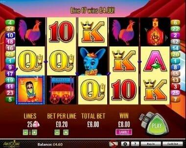 More Chilli pokies machine screenshot image