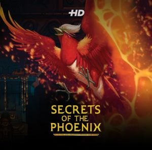 Logo image for the Secrets of the Phoenix slot game