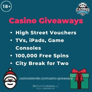 Banner for the Casino Giveaway Promotions review