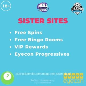 Banner for the Mega Reel sister sites review