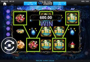 Screenshot of Crystal Forest slot