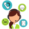 Icon image for Customer Service feature