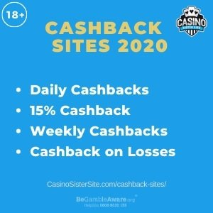 Cashback Sites - Get up to 15% cashback on losses & deposits every day. 3