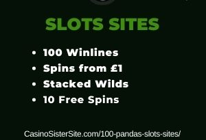 100 Pandas slots sites - Play with 100 lines, stacked wilds and free spins 3