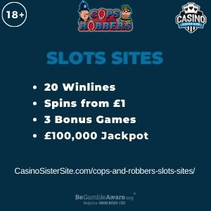 Cops and Robbers slots sites - Play online with a free bonus here! 4