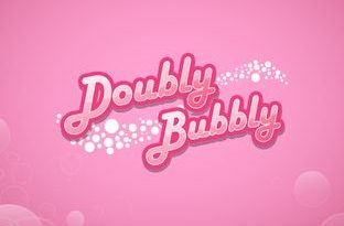 Logo image of the Doubly Bubbly instant win game from Gamesys