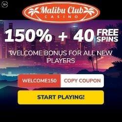 malibu club casino banner image