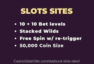 Starburst slots sites - Full list with free spins & bonus. 2