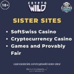 """Banner image for Cryptowild Sister Sites with text """"SoftSwiss Casino. Cryptocurrency Casino. Games and Provably Fair."""""""