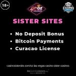 Oz Las Vegas Casino sister casinos feature image