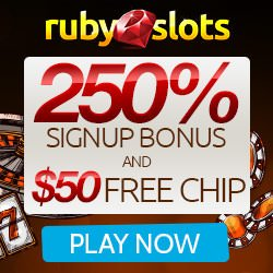 Ruby Slots casinos banner image
