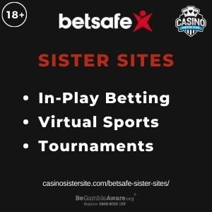 """Feature image for Betsafe Sister Sites article with text: """"In-Play Betting. Virtual Sports. Tournaments. """""""